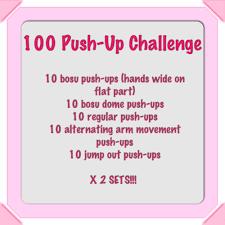 Challenge Rate 100 Push Up Challenge Minnie