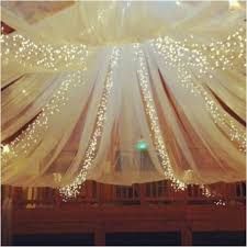 Ceiling Drapes With Fairy Lights Best 25 Wedding Draping Ideas On Pinterest Ceiling Draping