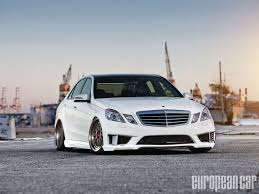 car mercedes 2010 2010 mercedes benz e350 heavy cruiser european car magazine