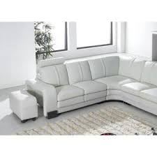 canapé d angle blanc cuir canape angle gauche cuir blanc achat vente pas cher