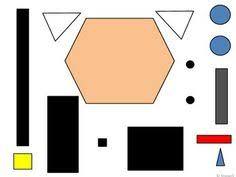 geometric shape santa i many other geometric