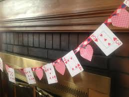 purposeful play time diy playing card valentine u0027s day banner