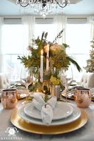 creating a copper christmas table kelley nan