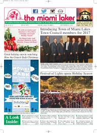 miami laker 2016 december 2016 by miamilaker issuu