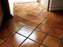 Kitchen Maintenance Terracotta Kitchen Floor North Chailey After Cleaningterracotta