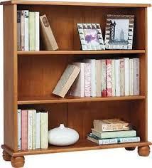 Pine Wood Bookshelf Pine Bookcase Ebay