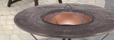 wood burning fire table winston round wood burning fire pit seashore ace stone harbor nj