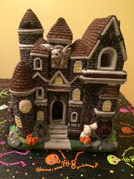 ceramic haunted house painted ceramic halloween 2014 ceramic