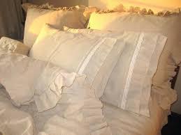 bedding ideas compact shabby chic ruffle bedding bedroom interior