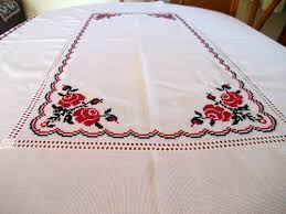 Ukrainian Tablecloth Ukrainian Embroidery Ukrainian Table Runners - Table cloth design
