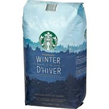 starbucks winter blend coffee beans 40 oz whole and