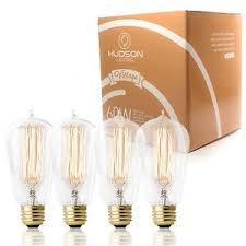 60 watt 120 volt light bulb 4 pack 60 watt vintage edison bulb squirrel cage filament 120 volts
