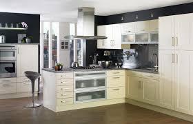 kitchen contemporary small kitchen design with pretty chandelier
