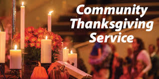 community thanksgiving service 2017 christian church