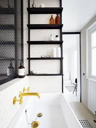 Black And Gold Bathroom Black White And Gold In The Bathroom Themsfly