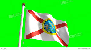 Florida Flag History Florida Flag Stock Animation 1832848