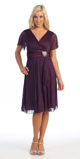 purple dresses for weddings knee length sleeve black modest knee length dress v neckline chiffon