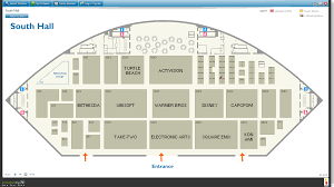 the e3 2015 floor plans are up neogaf below are the floor plans of south hall and west hall pmrs and concourse aren t too interesting part from nintendo booking the theatre as always