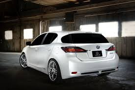 lexus ct200h exhaust system lexus bringing five customized hybrids plus ct 200h f sport to