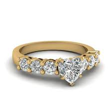 preset engagement rings beautiful 1 carat shaped engagement ring in 14k
