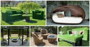 outdoor furniture ideas 12 unusual garden furniture for unique garden top inspirations