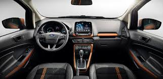 Ford Escape Inside - india bound 2017 ford ecosport facelift unveiled