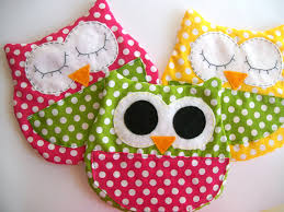 big owl cold pack filled with rice perfect gift for