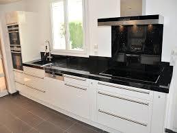 plan de travail cuisine granit noir plan travail cuisine granit les plans de travail crer sa cuisine