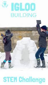 build an igloo stem challenge kids craft room