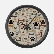 large wall clock dog clocks dog wall clocks large modern kitchen clocks
