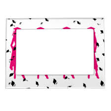 graduation frame graduation magnetic picture frames zazzle