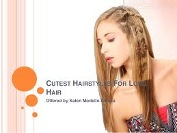 cutest hairstyles for long hair