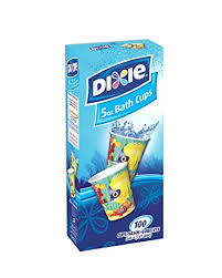 dixie cups dixie bathroom cups expressions design 5 oz 100 ea