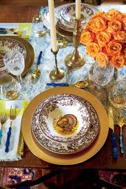 thanksgiving table with turkey this is how to dress up your turkey plates for thanksgiving dinner
