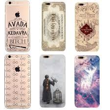 soft tpu phone cases avada kedavra shirt for harry potter