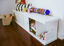 diy storage bench toy storage ideas 13 easy solutions for the