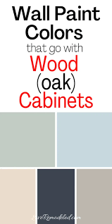 what color compliments gray cabinets wall colors for honey oak cabinets remodeled