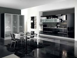 Black Gloss Kitchen Ideas by Magnificent Large Luxury Kitchen Come With Rectangle Shape Brown