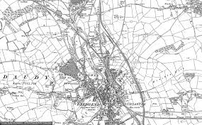 map of newcastle lyme maps of newcastle francis frith