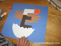letter e crafts letter of the week a preschool craft for the letter e