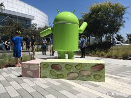 android statues here s the android nougat statue at the googleplex xcomputer