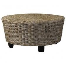 Wicker Patio Coffee Table Wicker Ottoman Coffee Table Foter