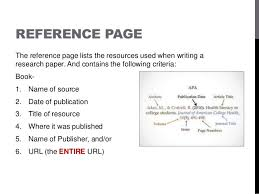 How To Make A Reference Page For Resume Apa Research Paper Citing Format Mediafoxstudio Com