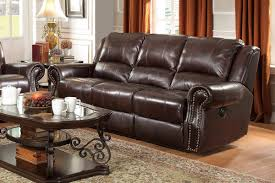 Top Grain Leather Sofa Recliner Coaster Top Grain Leather Sofa Recliner Oc Furniture Warehouse