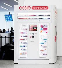essie launches nail polish vending machines style files