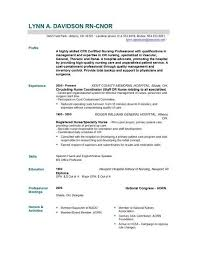 cover letter example for nurses cover letter example nursing