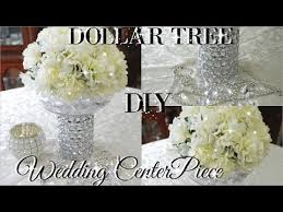 Tree Centerpiece Wedding by Diy Dollar Tree Bling Floral Wedding Centerpiece 2017