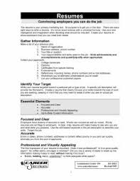 examples of resumes 87 glamorous simple resume sample for a
