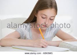Friends doing homework