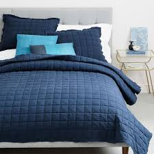 Quilted Coverlets And Shams Modern Quilts U0026 Coverlets West Elm
